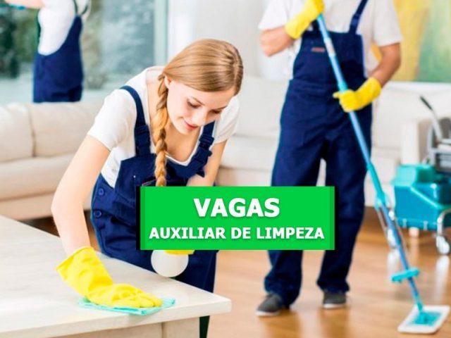 Seleção para Auxiliar de Limpeza